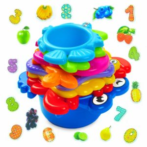aGreatLife Stacking Cups Bath Toys