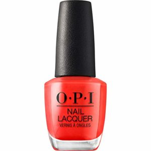 O.P.I Nail Lacquer in Coca-Cola Red